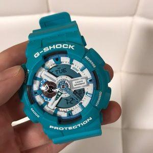 Gshock Teal Watch